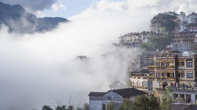 Sapa in the clouds